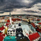 Historický Olomouc na Morave