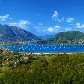 Vlicho na gréckom ostrove Lefkada