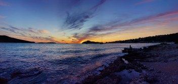 Západ slnka v Primoštene