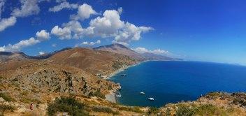 Pláž Preveli na Kréte