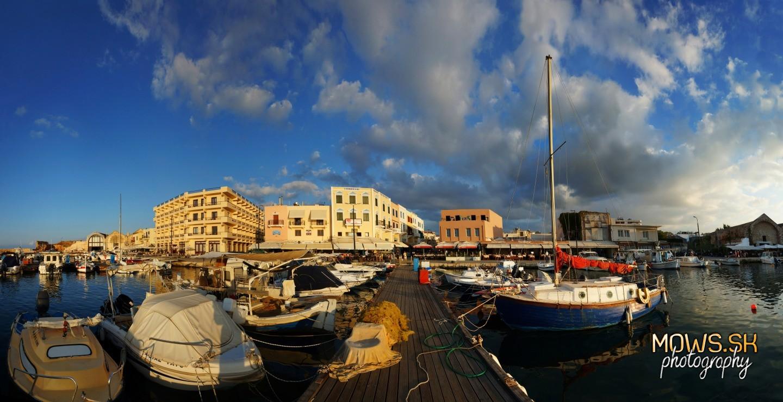 Benátsky prístav v mestečku Chania