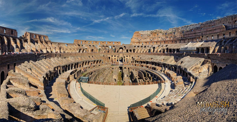 Koloseum v Ríme