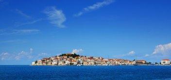 Chorvátsky polostrov Primošten