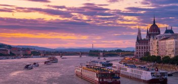 Večerná plavba na Dunaji