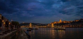 Budapešť v časozbere