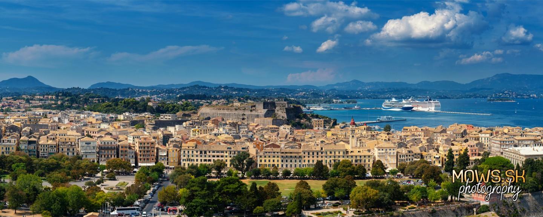 Corfu Town v timelapse