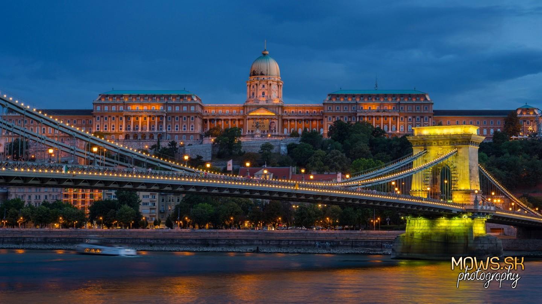 Budínsky hrad a Sečéniho reťazový most